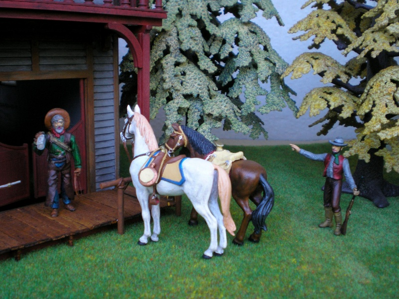 Figuren- & Zubehör-Umbau, Elastolin-Pferd, 70 mm 004_sa12