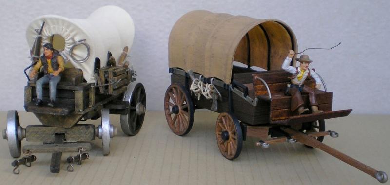 Umbau eines Playmobil-Planwagens - 2. Variante mit Kunststoffplane und Mulis 027g_b11