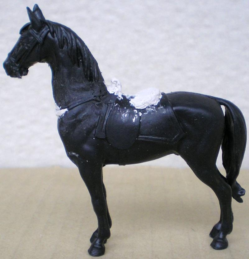 Figuren- & Zubehör-Umbau, Elastolin-Pferd, 70 mm 047c1_10