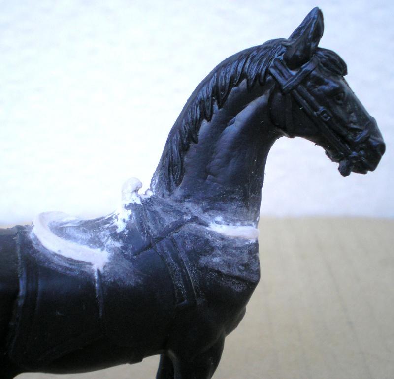 Figuren- & Zubehör-Umbau, Elastolin-Pferd, 70 mm 047c2b10