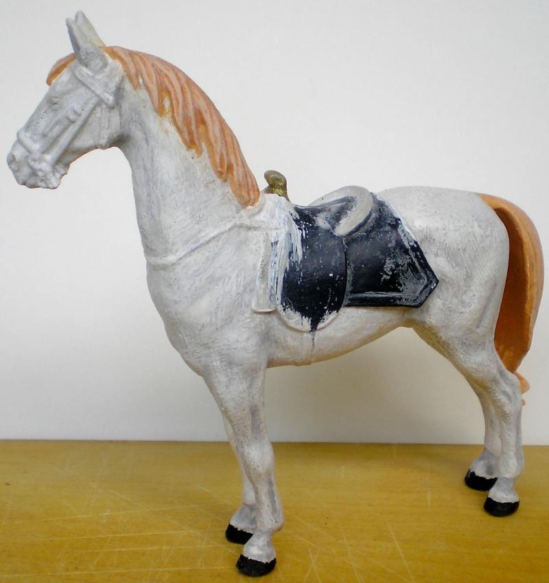 Figuren- & Zubehör-Umbau, Elastolin-Pferd, 70 mm 047e3a10
