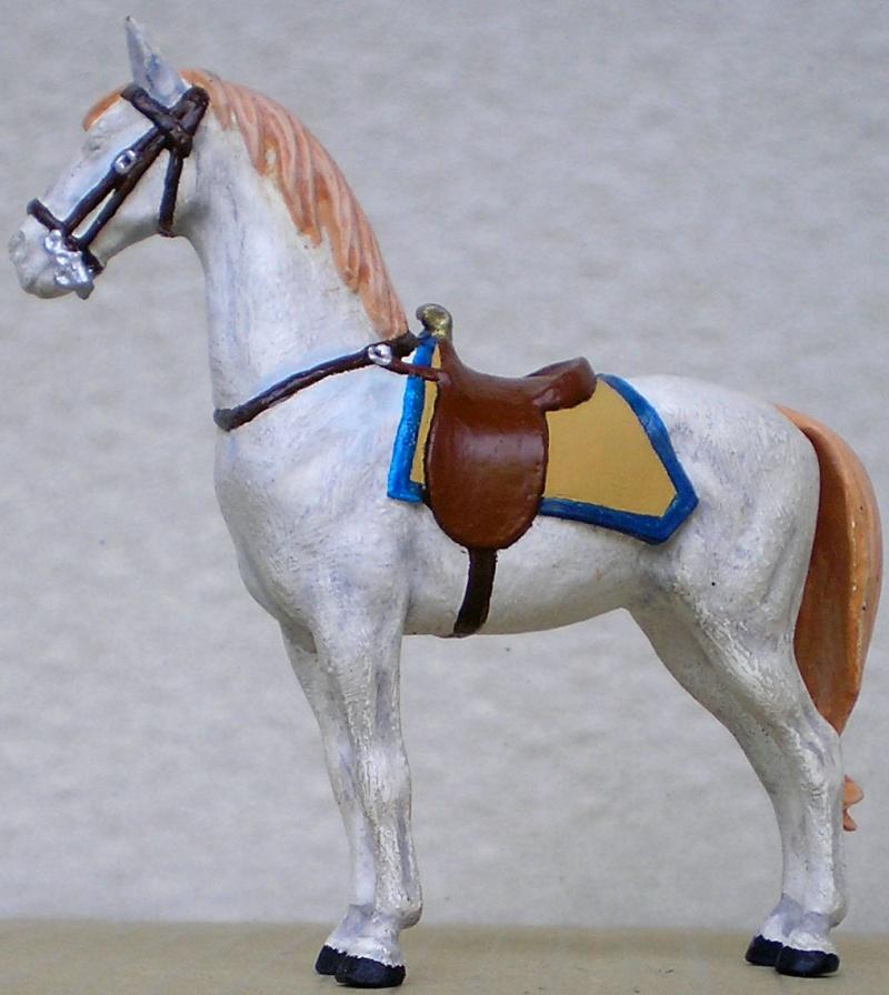 Figuren- & Zubehör-Umbau, Elastolin-Pferd, 70 mm 047e4a10