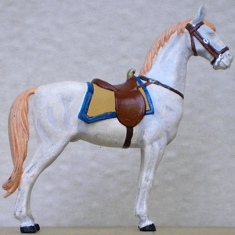 Figuren- & Zubehör-Umbau, Elastolin-Pferd, 70 mm 047e4b10