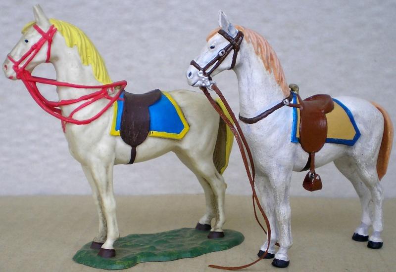 Figuren- & Zubehör-Umbau, Elastolin-Pferd, 70 mm 047f2b10