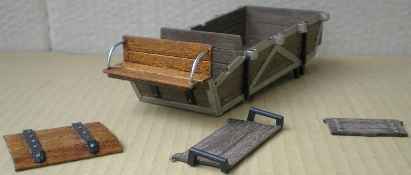 Umbau eines Playmobil-Planwagens - 1. Variante mit Stoffplane und Ochsengespann 057c3k10