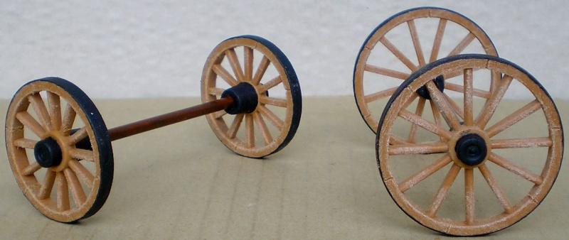 Umbau eines Playmobil-Planwagens - 2. Variante mit Kunststoffplane und Mulis 059d2_11