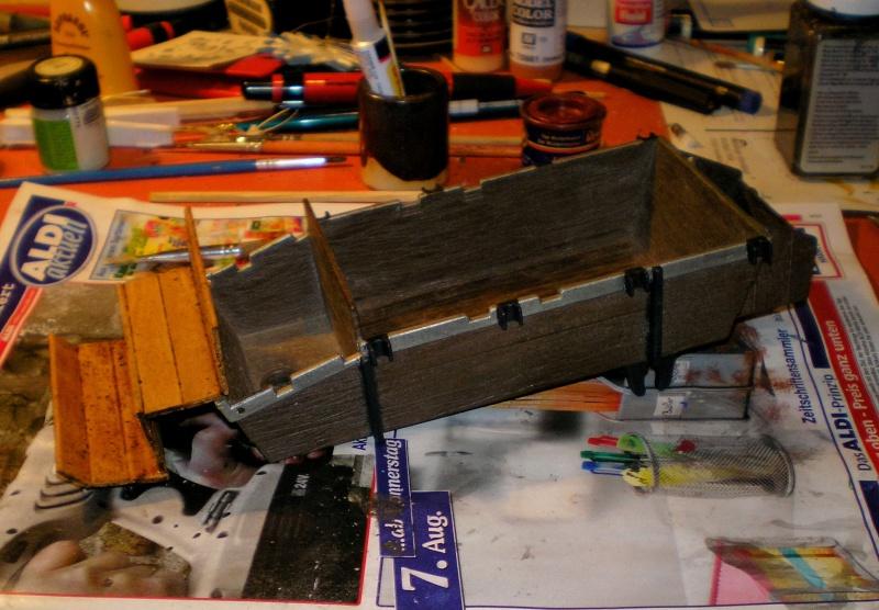 Umbau eines Playmobil-Planwagens - 2. Variante mit Kunststoffplane und Mulis 059e5_11