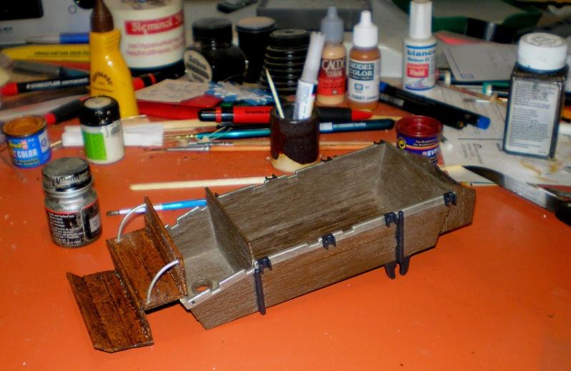 Umbau eines Playmobil-Planwagens - 2. Variante mit Kunststoffplane und Mulis 059e6_11