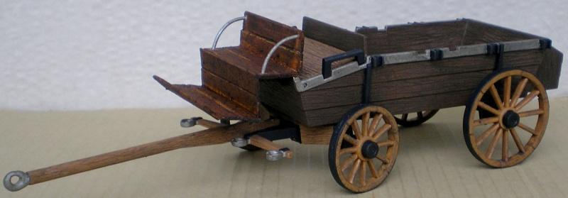 Umbau eines Playmobil-Planwagens - 2. Variante mit Kunststoffplane und Mulis 059f2_11