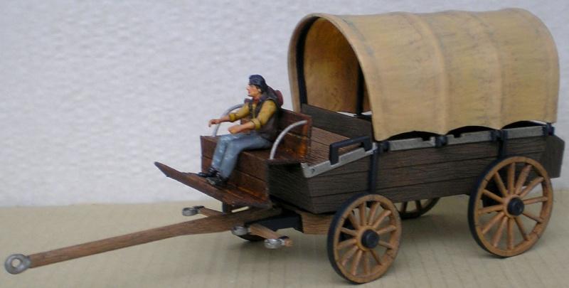 Umbau eines Playmobil-Planwagens - 2. Variante mit Kunststoffplane und Mulis 059g1_11