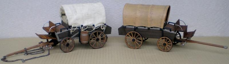 Umbau eines Playmobil-Planwagens - 2. Variante mit Kunststoffplane und Mulis 059g2_11
