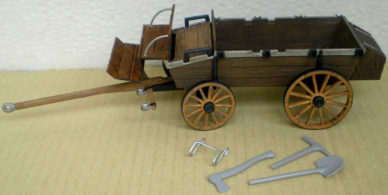 Umbau eines Playmobil-Planwagens - 2. Variante mit Kunststoffplane und Mulis 059h1_11