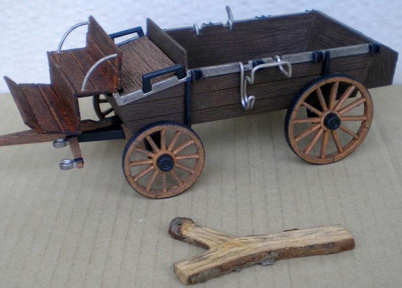 Umbau eines Playmobil-Planwagens - 2. Variante mit Kunststoffplane und Mulis 059i2_11