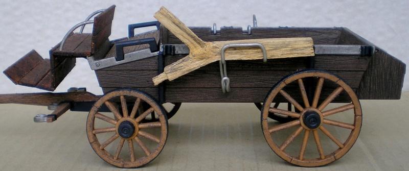 Umbau eines Playmobil-Planwagens - 2. Variante mit Kunststoffplane und Mulis 059i3_11