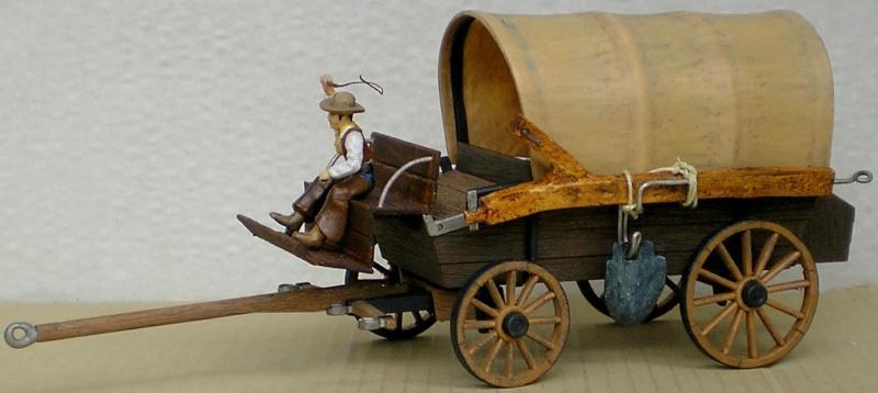 Umbau eines Playmobil-Planwagens - 2. Variante mit Kunststoffplane und Mulis 059j6_12