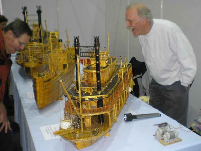 Schiffsmodellbau aus Streichhölzern und Streichholzschachtel 2006-110