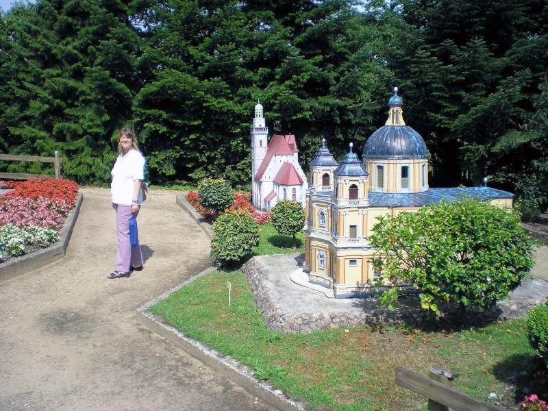 Mini-Born-Park Owschlag - Außenanlage in Spur IIm mit berühmten Gebäuden in 1:25 20060779