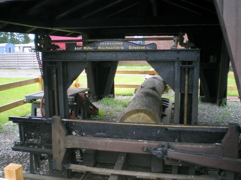 Kleines Sägewerk am Technik-Museum in Stade 20090102