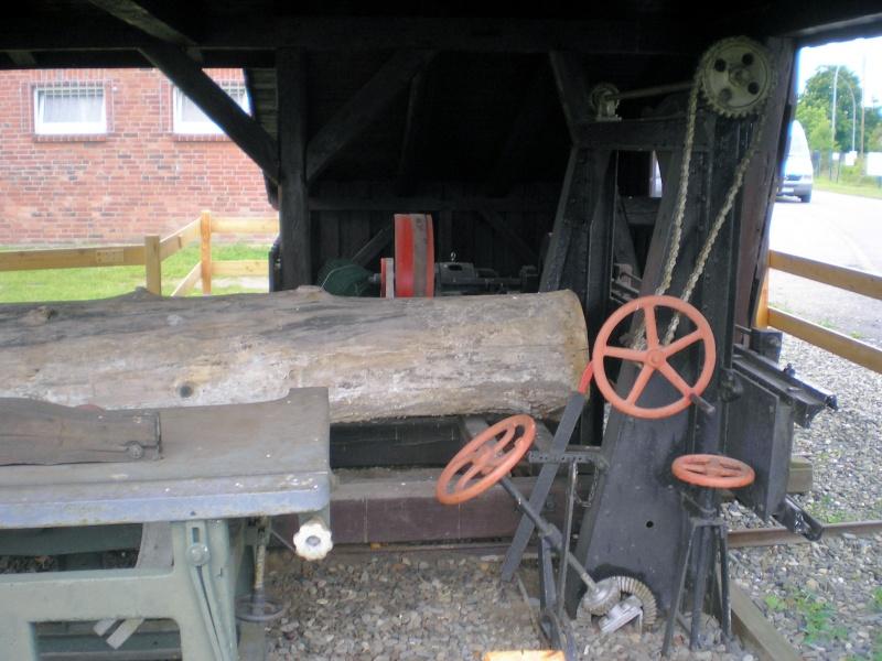 Kleines Sägewerk am Technik-Museum in Stade 20090104