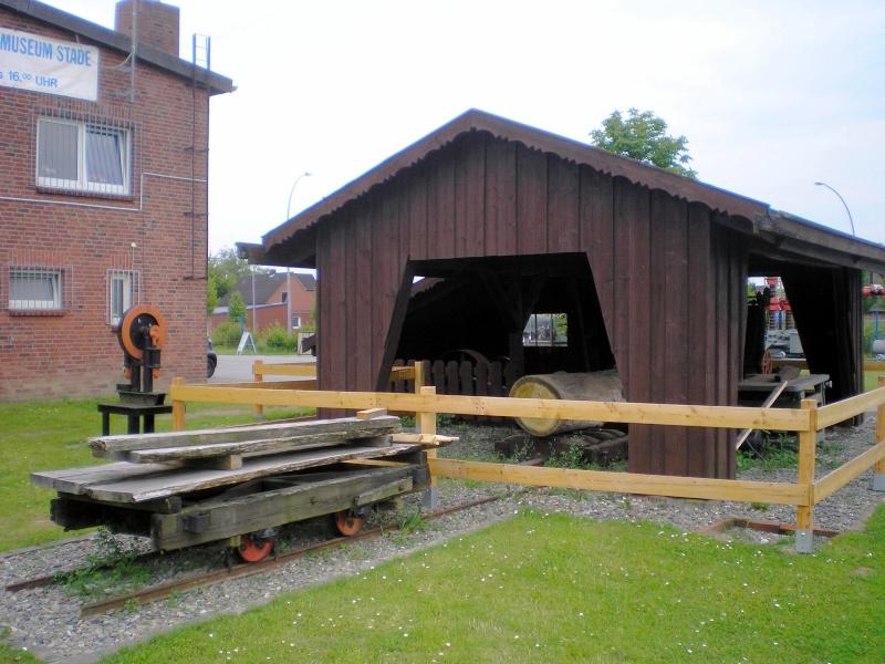 Kleines Sägewerk am Technik-Museum in Stade 20090105