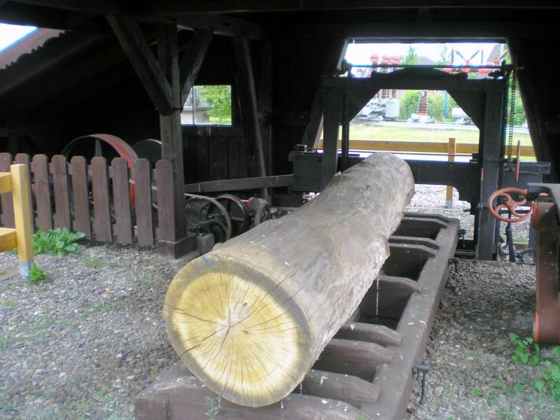 Kleines Sägewerk am Technik-Museum in Stade 20090106
