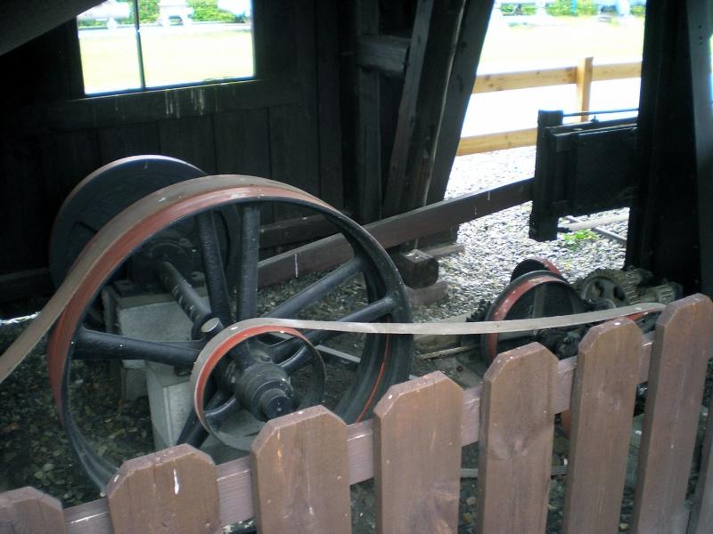 Kleines Sägewerk am Technik-Museum in Stade 20090107