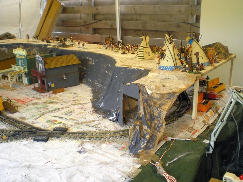 LGB-Aufbau beim Westerntreffen in Stade 2009 20090638