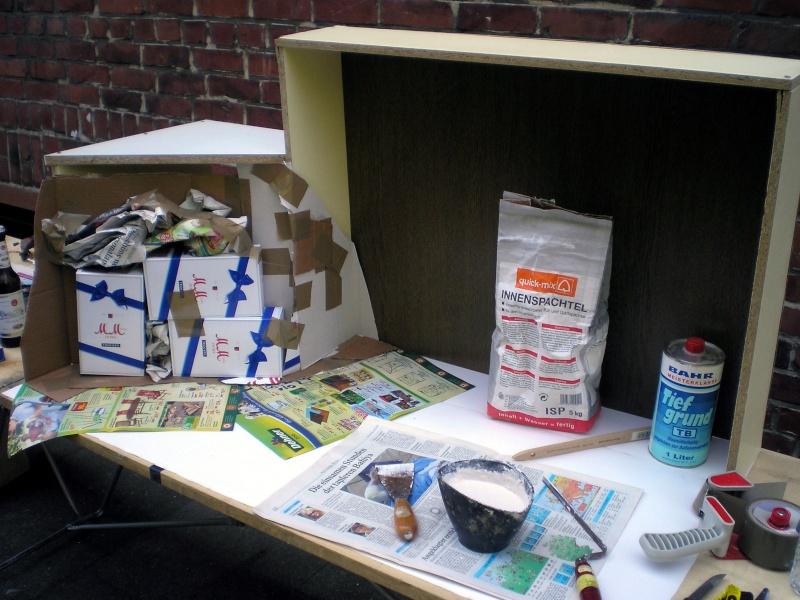 Recycling für den Modellbau - kostenloses Bastelmaterial 20090749