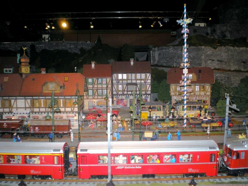 Modellbahn-Paradies Fehmarn - Innenanlagen in Spur N, H0 und IIm 20110842