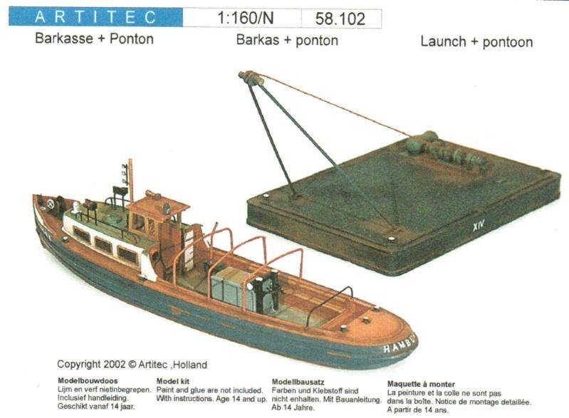 Bau der Schiffe in Spur N von Artitec Artite20