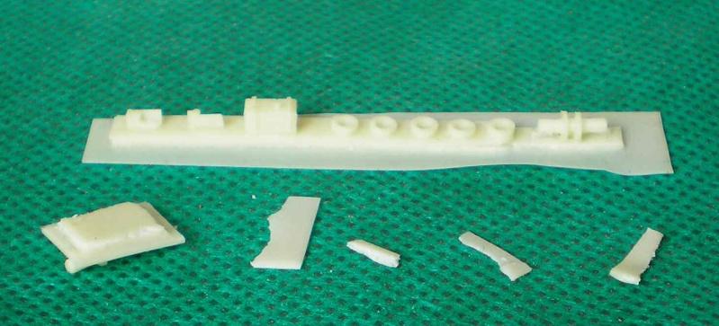 Bau der Schiffe in Spur N von Artitec Artite25