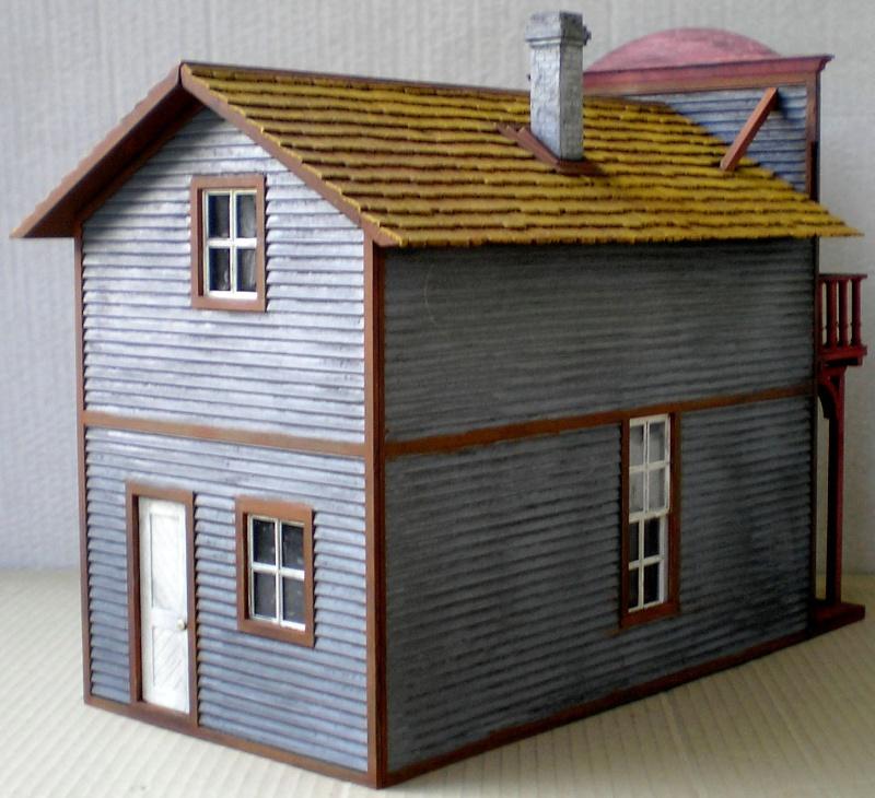 Pola G 1802 - Saloon im Maßstab 1:22,5 in eigener Bemalung mit Ergänzungen Bemalu18