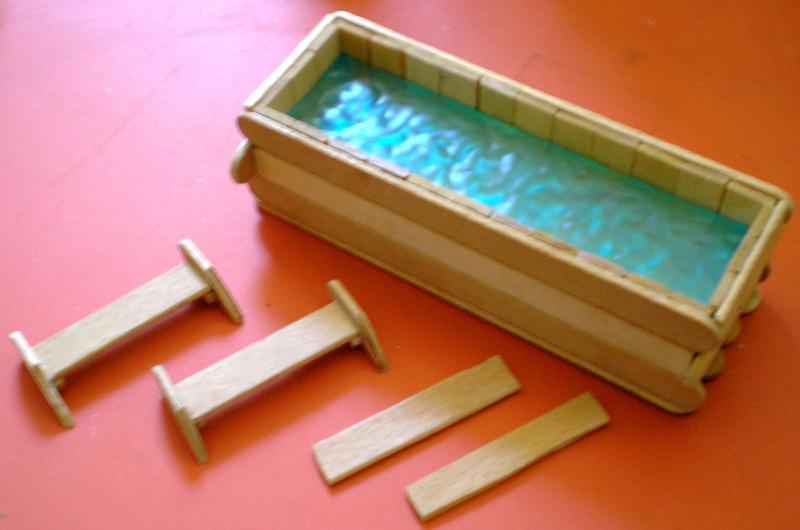 Recycling für den Modellbau - kostenloses Bastelmaterial Bemalu24
