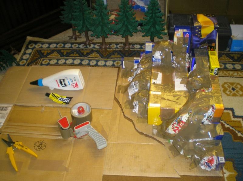 Gestaltung eines Dioramas mit den Tannen von Playmobil Tannen23