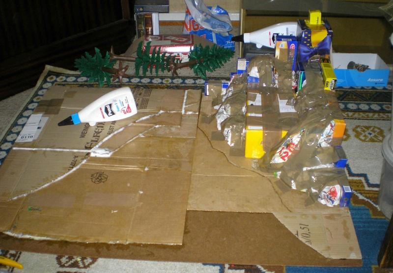 Gestaltung eines Dioramas mit den Tannen von Playmobil Tannen26