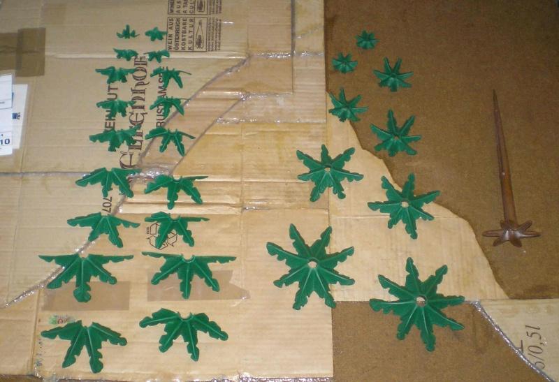 Gestaltung eines Dioramas mit den Tannen von Playmobil Tannen27