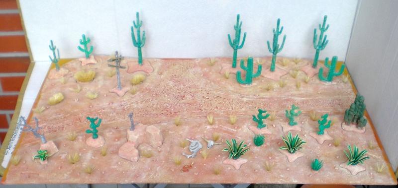Western-Dioramen für 54 - 90 mm Figuren Wasten10