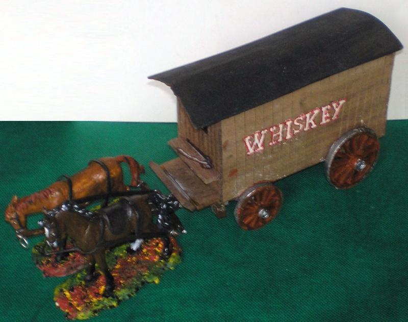 Fuhrwerke im Wilden Westen Whiske10