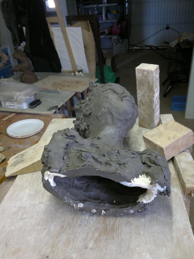 moulage d'un buste terre cuite - Page 3 12042013