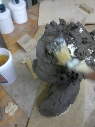 moulage d'un buste terre cuite 12042020
