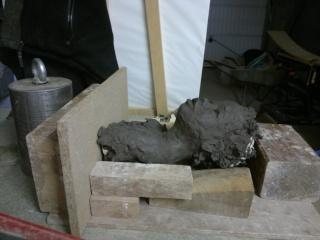 moulage d'un buste terre cuite 12042022