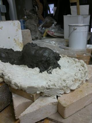 moulage d'un buste terre cuite 15042010
