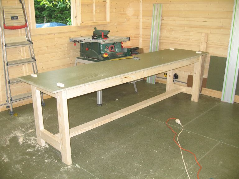 Une Table pour bricoler Table810