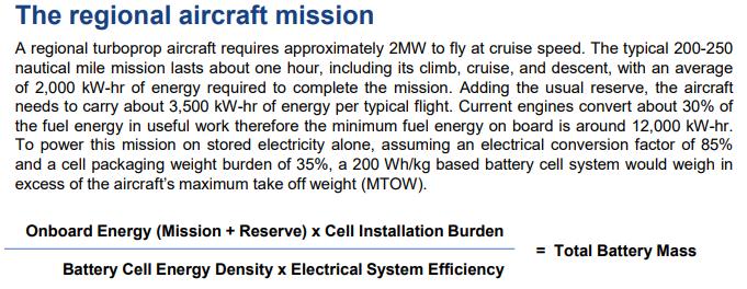 Avions à motorisation électrique Hyb210