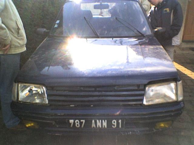 Mon ancienne Peugeot 205 XAD 205310