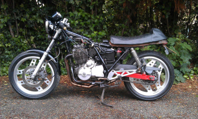 cb750 kz cafe racer - work on a customers bike In_the10