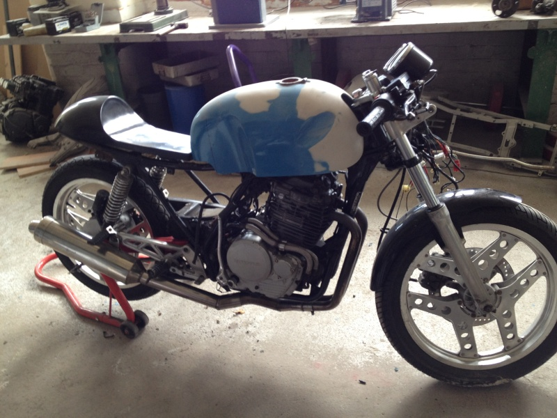 honda xbr500 cafe racer - we only have 2 months to completion Photo_12