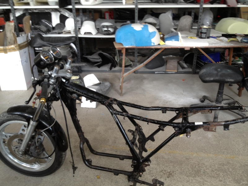 honda xbr500 cafe racer - we only have 2 months to completion Photo_13