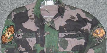 Philippine Police Camo Uniform Pipol210