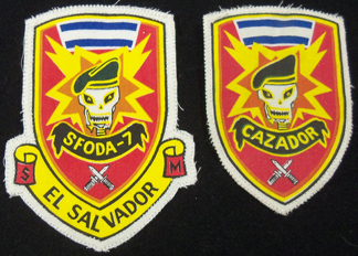 A couple of El Salvador patches I had sitting in a pile Soges10